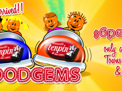 Try a Dodgem Ride at Townsville Tenpin!
