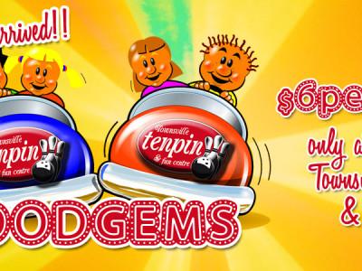Try a Dodgem Ride at Townsville Tenpin!