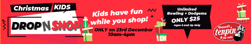 Christmas Kids Shop-N-Drop - 23rd December 10am to 4pm
