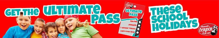 June-July 2020 School Holidays Ultimate Pass.