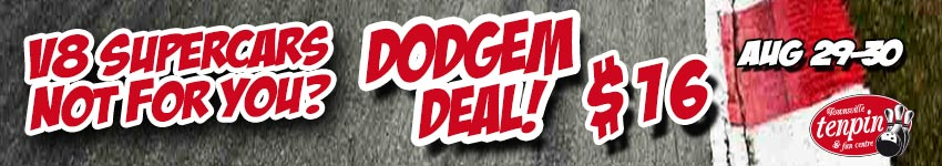 V8's Not For You- Dodgem Deal-Weekend Sat 29th -Sun 30th Aug